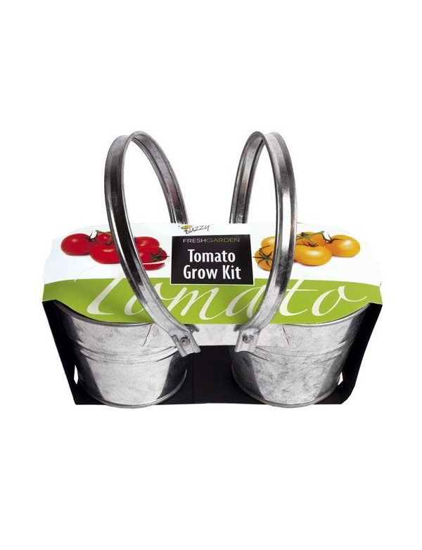 Minichamp`s Duo Emmertjes, Tomaten Grow Kit